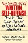 The Gentle Art of Written SelfDefense