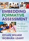 Handbook for Embedded Formative Assessment