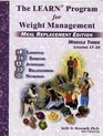 The Learn Program for Weight Management - Meal Replacement Edition Module Three