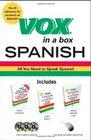 Vox in a Box Spanish