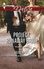 Project Runaway Bride