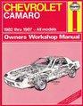 Chevrolet Camaro 1982-87 Owner's Workshop Manual