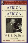 Africa Its Geography People and Products and Africa-Its Place in Modern History