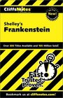 Cliffs Notes Shelley's Frankenstein