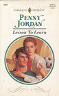 Lesson To Learn (Harlequin Presents, No 1673)