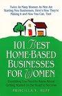 101 Best Home-Based Businesses for Women