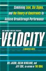Velocity Combining Lean Six Sigma and the Theory of Constraints to Achieve Breakthrough Performance - A Business Novel