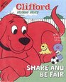 Clifford Sticker Story Share and Be Fair