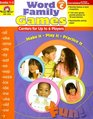Word Family Games Centers for Up to 6 Players Level C