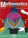 Mathematics for Elementary Teachers : A Contemporary Approach