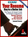 Your Resume Key to a Better Job