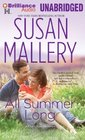 All Summer Long (Fool's Gold, Bk 9) (Audio CD) (Unabridged)