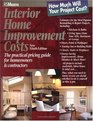 Interior Home Improvement Costs: The Practical Pricing Guide for Homeowners  Contractors (Interior Home Improvement Costs)