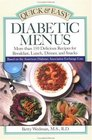 Quick  Easy Diabetic Menus
