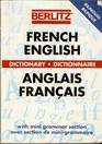Berlitz French-English Dictionary