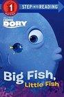 Finding Dory Big Fish Little Fish