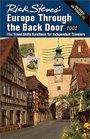Rick Steves' Europe Through the Back Door 2002: The Travel Skills Handbooks for Independent Travelers