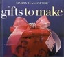Simply Handmade Gifts to Make