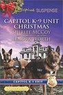 Capitol K-9 Unit Christmas: Protecting Virginia / Guarding Abigail (Love Inspired Suspense, No 495) (Larger Print)