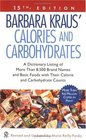 Barbara Kraus' Calories and Carbohydrates : (15th Edition) (Calories and Carbohydrates)