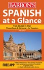 Spanish at a Glance Foreign Language Phrasebook  Dictionary
