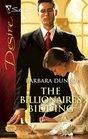 The Billionaire's Bidding (Silhouette Desire, No 1793)