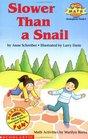 Slower Than a Snail (Hello Reader, Math L2)