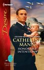 Honorable Intentions (Billionaires and Babies) (Harlequin Desire, No 2151)