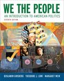 We the People An Introduction to American Politics Seventh Edition
