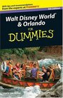 Walt Disney World  Orlando For Dummies