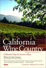Compass American Guides California Wine Country 4th Edition
