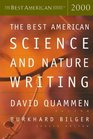 The Best American Science  Nature Writing 2000