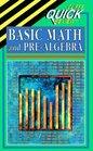 Cliffs Quick Review: Basic Math and Pre-Algebra