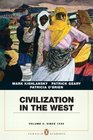 Civilization in the West Penguin Academic Edition Volume 2