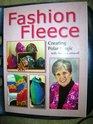 Fashion Fleece- Creating Polar Magic