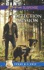 Detection Mission (Texas K-9 Unit, Bk 2) (Love Inspired Suspense, No 327)
