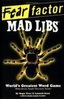 Fear Factor Mad Libs