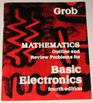 Mathematics Outline and Review Problems for Basic Electronics