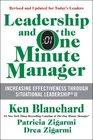 Leadership and the One Minute Manager Updated Ed Increasing Effectiveness Through Situational Leadership