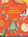 Phonics Kit Activity Sheets Level 1  Teacher's Annotated Edition
