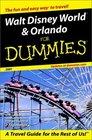 Walt Disney World and Orlando for Dummies 2001