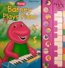 Barney Plays Piano Play-a-Song Large Interactive Book!