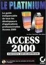 Access 2000  dition dveloppeur
