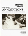 Miquon Math Lab Series: Lab Sheet Annotations