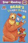 Bear in the Big Blue House: Bear's Shape Book (Step into Reading, Step 1, paper)