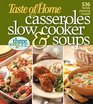 Casseroles, Slow Cooker, and Soups