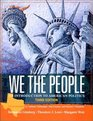 We the People An Introduction to American Politics Third Texas Edition
