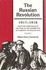 The Russian Revolution 1917-1921