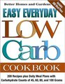 Easy Everyday Low Carb Cookbook