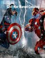 Civil War Marvel Coloring Book Marvel Civil War Coloring Book for Adults and Ki